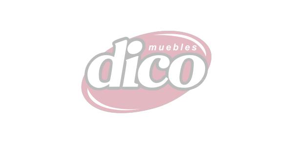 Cómoda 4 Cajónes Melody Blanco/Gris